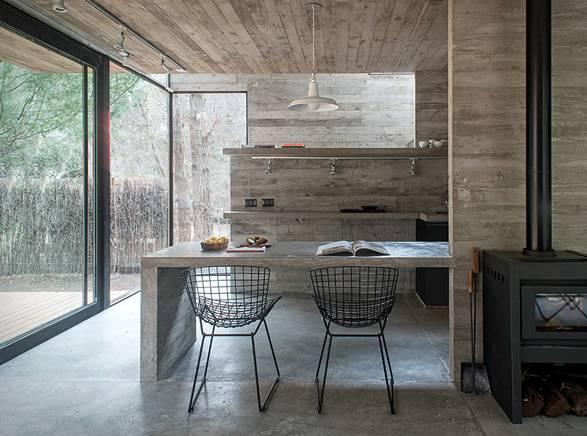Arquitetura - Casa H3 - Estrutura de Concreto - Imagem - 4