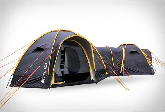 Sistema de Acampamento com Tendas Conectadas - Imagem - 2