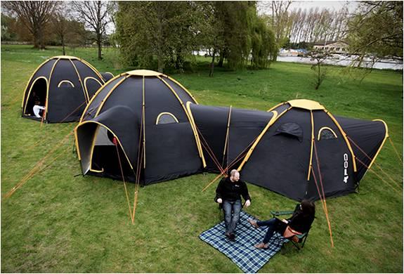 Sistema de Acampamento com Tendas Conectadas - Imagem - 3