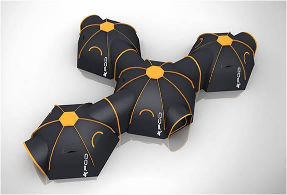 Sistema de Acampamento com Tendas Conectadas - Imagem - 5