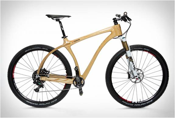 BICICLETA DE MADEIRA - CONNOR WOOD BICYCLES - Imagem - 3