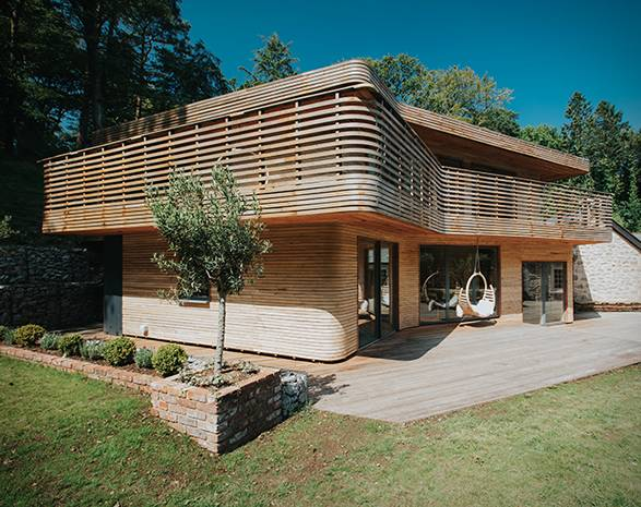 Casa em Madeira Cornualha - Imagem - 2