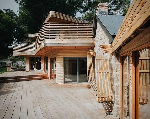 Casa em Madeira Cornualha - Imagem - 3