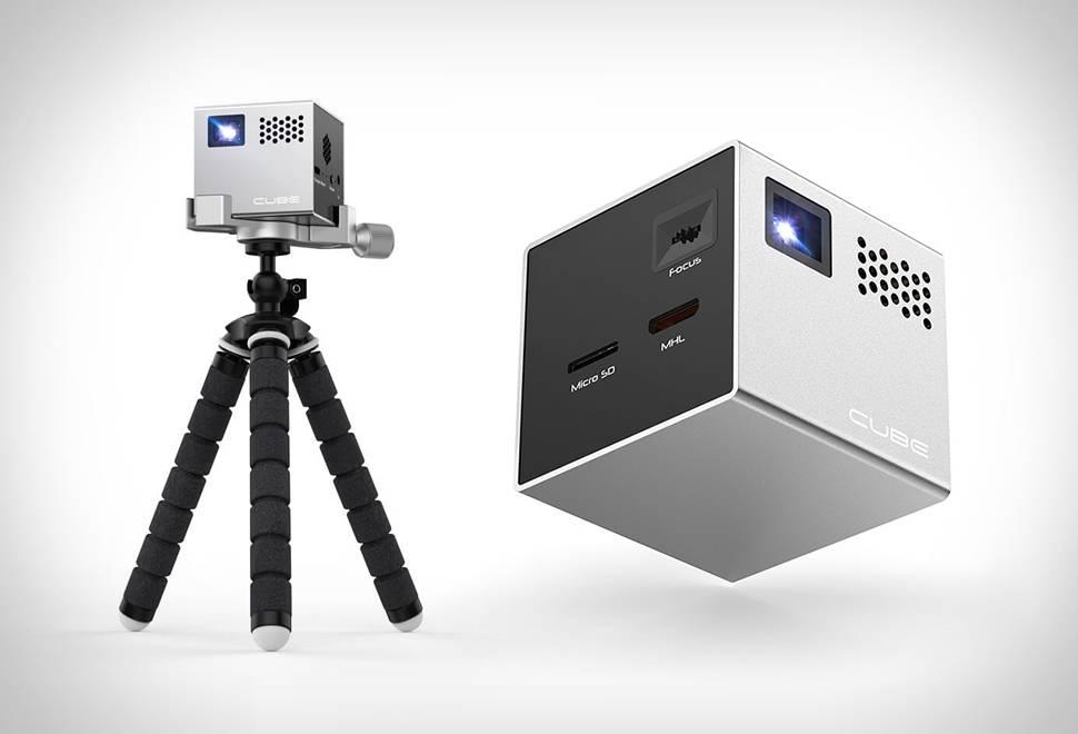 Projetor Móvel | Cube