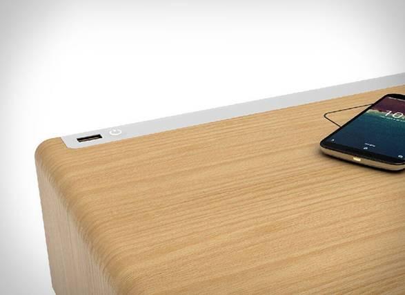 Mesa de Cabeceira Inteligente Curvilux - Imagem - 3
