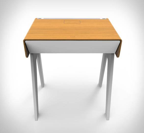 Mesa de Cabeceira Inteligente Curvilux - Imagem - 4