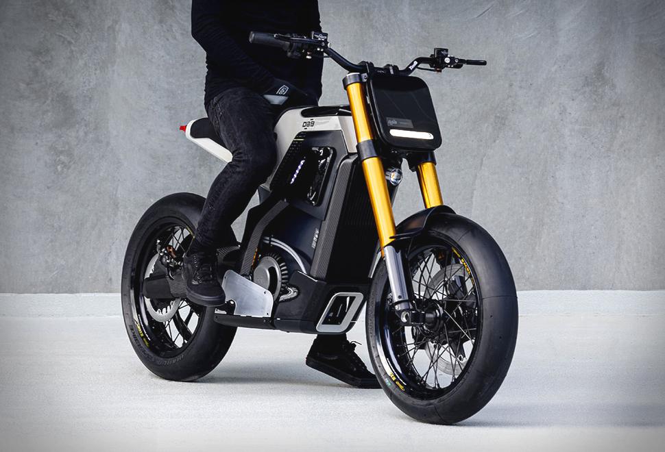 Moto Elétrica Urbana Leve para Cidade DAB Motors Concept-E