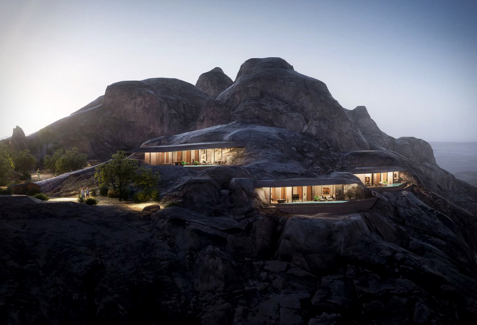 Novo Resort nas Montanhas da Arábia Saudita - DESERT ROCK HOTEL - Imagem - 1