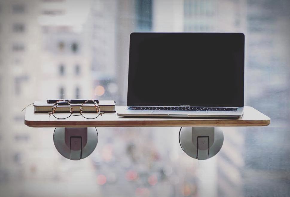 Mesa para Trabalhar em Pé Com Regulagem de Altura - DESKVIEW