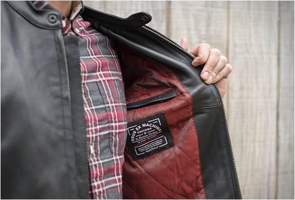Jaqueta de Couro para Motoqueiros | Deus Cafe Racer Leather Jacket | Deus Ex Machina - Imagem - 3