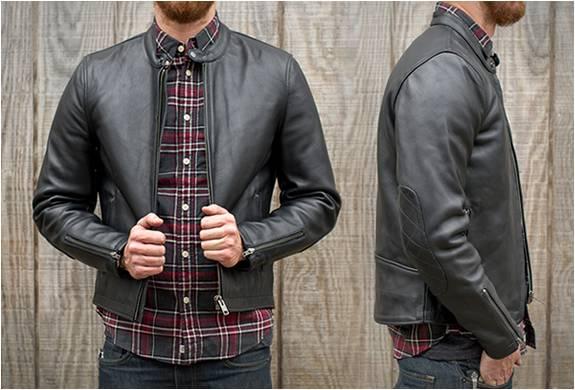 Jaqueta de Couro para Motoqueiros | Deus Cafe Racer Leather Jacket | Deus Ex Machina - Imagem - 1