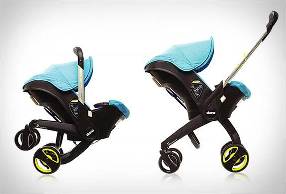 PRIMEIRO ASSENTO DE CARRO INFANTIL DO MUNDO COM UMA SOLUÇÃO DE MOBILIDADE COMPLETA - DOONA CAR SEAT - Imagem - 3