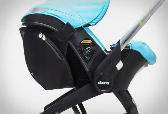 PRIMEIRO ASSENTO DE CARRO INFANTIL DO MUNDO COM UMA SOLUÇÃO DE MOBILIDADE COMPLETA - DOONA CAR SEAT - Imagem - 4
