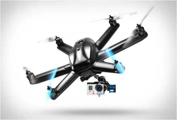 DRONE GOPRO - HEXO PLUS