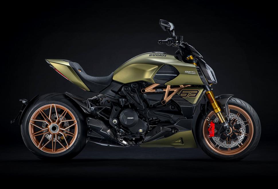 Moto Lamborghini Ducati Diavel 1260 - Imagem - 1