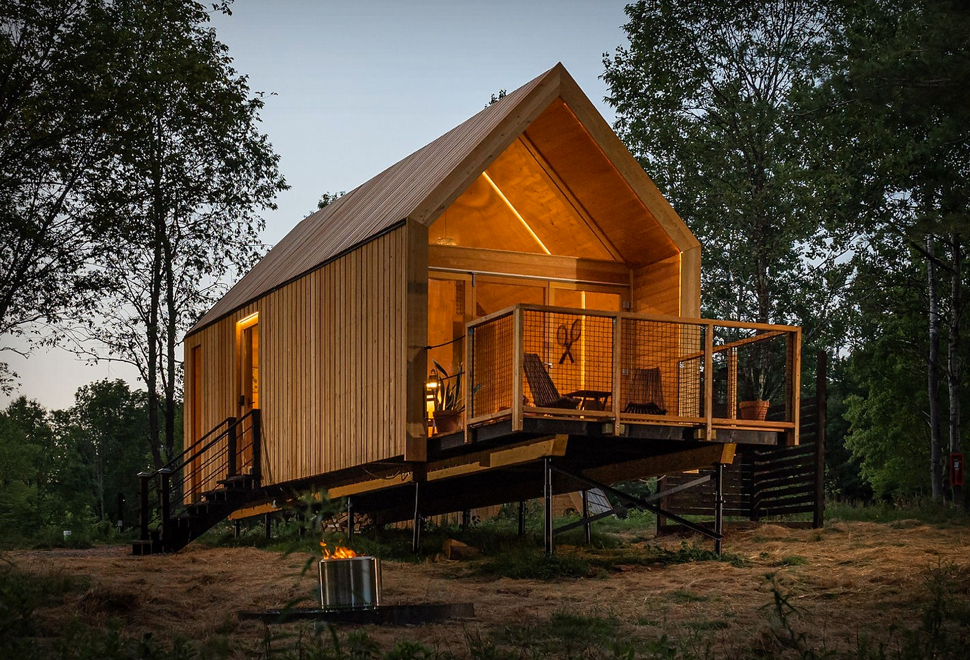 Glamping é a Combinação de Glamour e Camping - EASTWIND CATSKILLS RETREAT - Imagem - 1