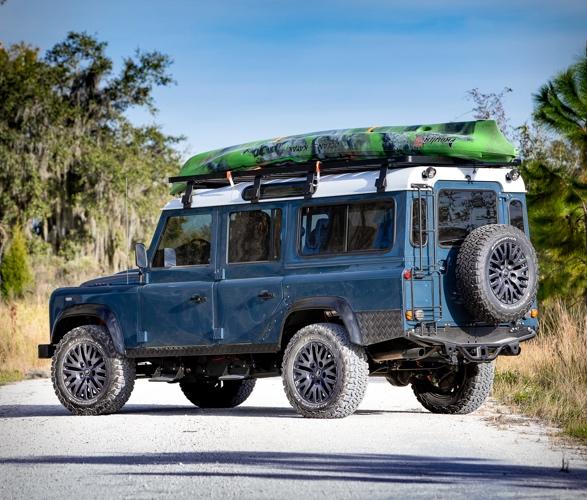 Land Rover Defender meticulosamente reconstruído - Projeto Galena - Imagem - 4
