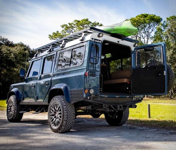 Land Rover Defender meticulosamente reconstruído - Projeto Galena - Imagem - 2