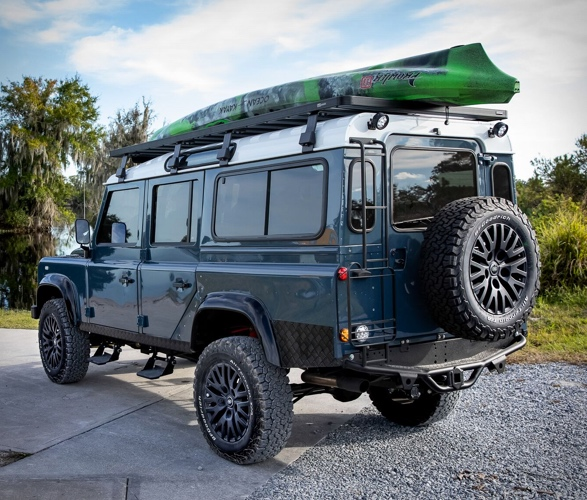 Land Rover Defender meticulosamente reconstruído - Projeto Galena - Imagem - 3