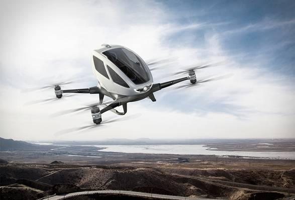 Drone Ehang 184 One-seater - Imagem - 2