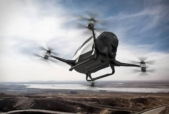 Drone Ehang 184 One-seater - Imagem - 3