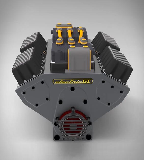 Motor Elétrico para carro convencional - Electric GT EV-Conversion Crate Motor - Imagem - 5