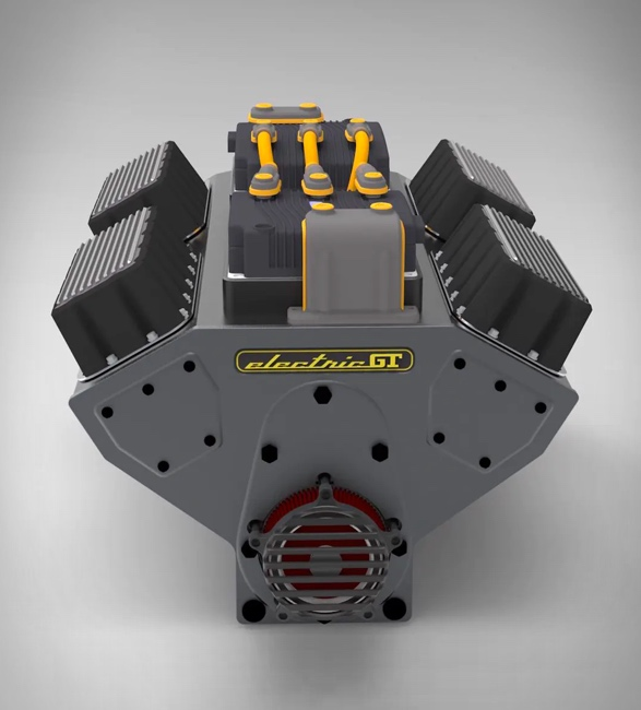 Motor Elétrico para carro convencional - Electric GT EV-Conversion Crate Motor - Imagem - 3