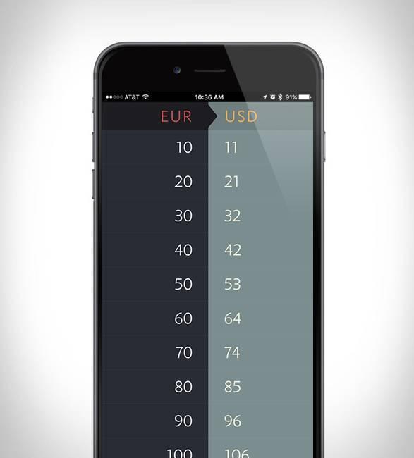 App Conversão de Moeda Elk - Imagem - 2