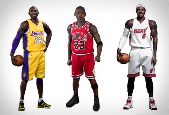 BONECOS HIPER REALISTAS DA NBA - HYPER REALISTIC NBA COLLECTION - Imagem - 2