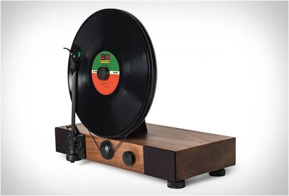 RADIOLA VERTICAL - FLOATING RECORD VERTICAL TURNTABLE - Imagem - 2