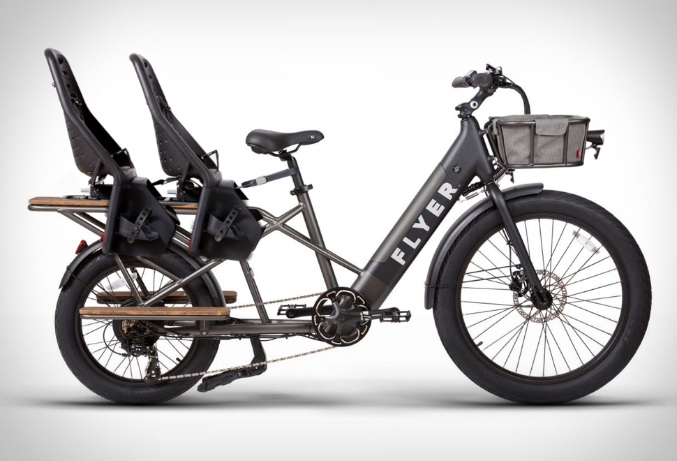 Bicicleta elétrica e-Bike Flyer - Imagem - 1