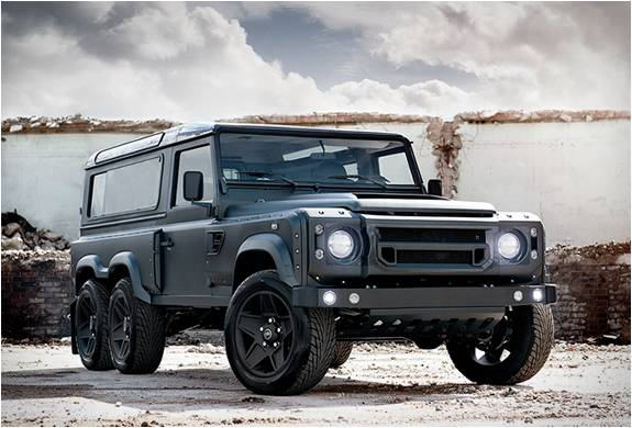 Pickup Monstruosa de Cabine Dupla 6x6 - Flying Huntsman - Imagem - 3