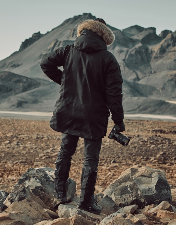 JAQUETA FRANK HURLEY PHOTOGRAPHERS JACKET - Imagem - 2