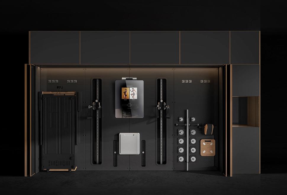 Academia em Casa - G-Wall Modular Home Fitness System - Imagem - 1