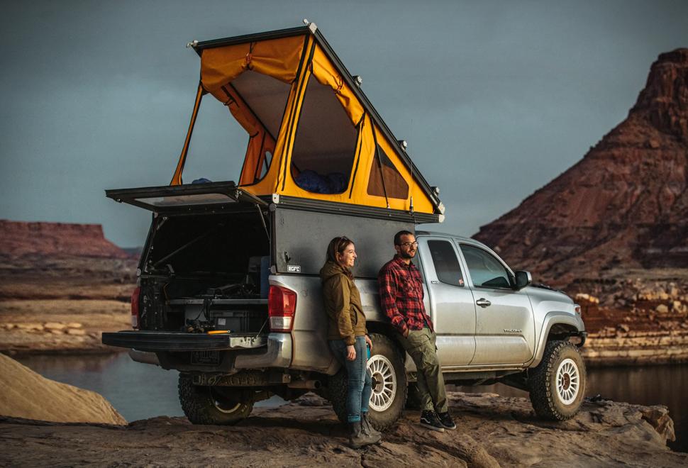 Tenda de Campismo para Carros - GFC Platform Camper - Imagem - 1