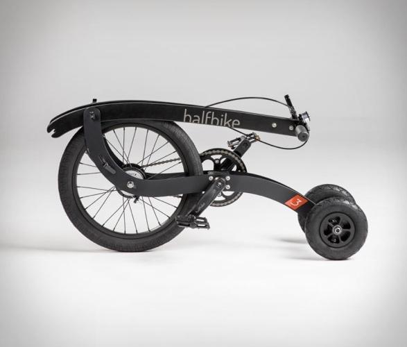 Triciclo Inovador que Combina Corrida e Ciclismo - HALFBIKE 3 - Imagem - 4