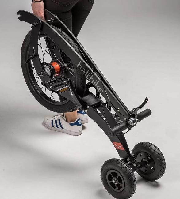 Triciclo Inovador que Combina Corrida e Ciclismo - HALFBIKE 3 - Imagem - 2