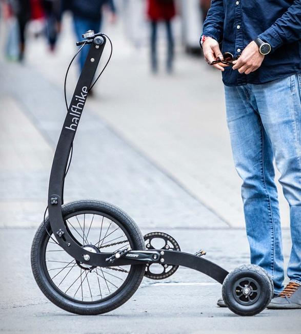 Triciclo Inovador que Combina Corrida e Ciclismo - HALFBIKE 3 - Imagem - 3