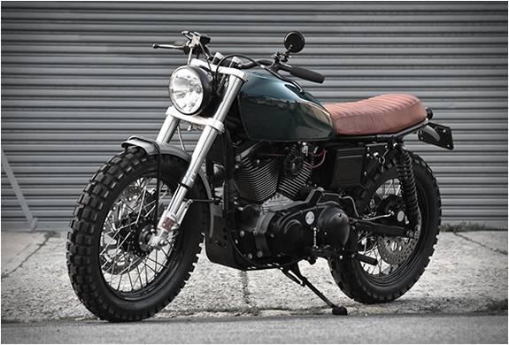 Moto Personalizada Harley Davidson Scrambler H-1 - Imagem - 3