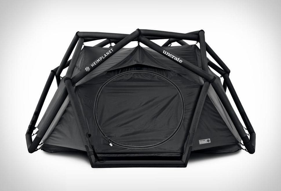 Barraca de camping - HEIMPLANET ALL BLACK CAVE TENT - Imagem - 1