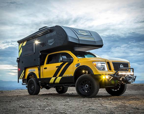 Pick-up Titan XD Camper | Hellwig Products - Imagem - 2