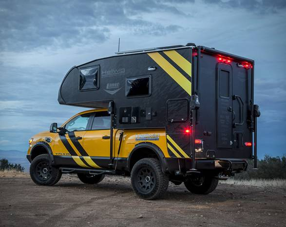 Pick-up Titan XD Camper | Hellwig Products - Imagem - 3