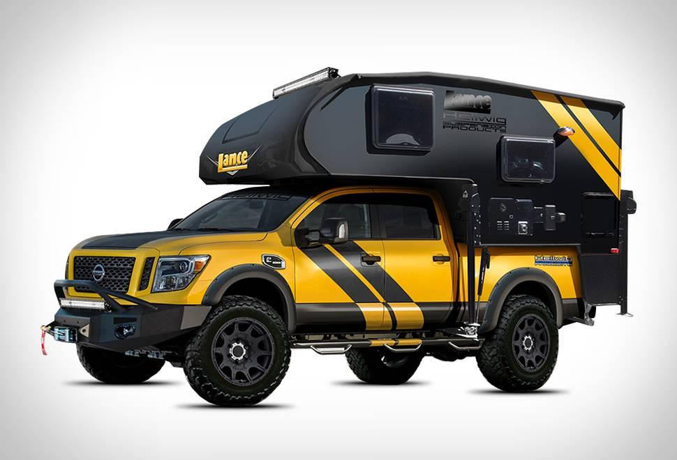 Pick-up Titan XD Camper | Hellwig Products - Imagem - 1