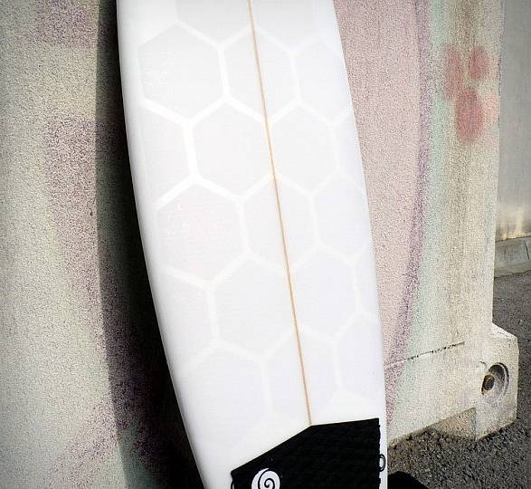 Autoadesivo para Prancha de Surf HexaTraction - Imagem - 2