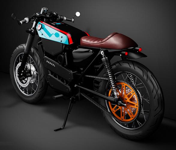 Moto HONDA ELECTRIC CAFE RACER - Imagem - 4