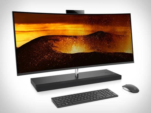 """HP Envy Curve AIO 34"""" Desktop - Imagem - 2"""