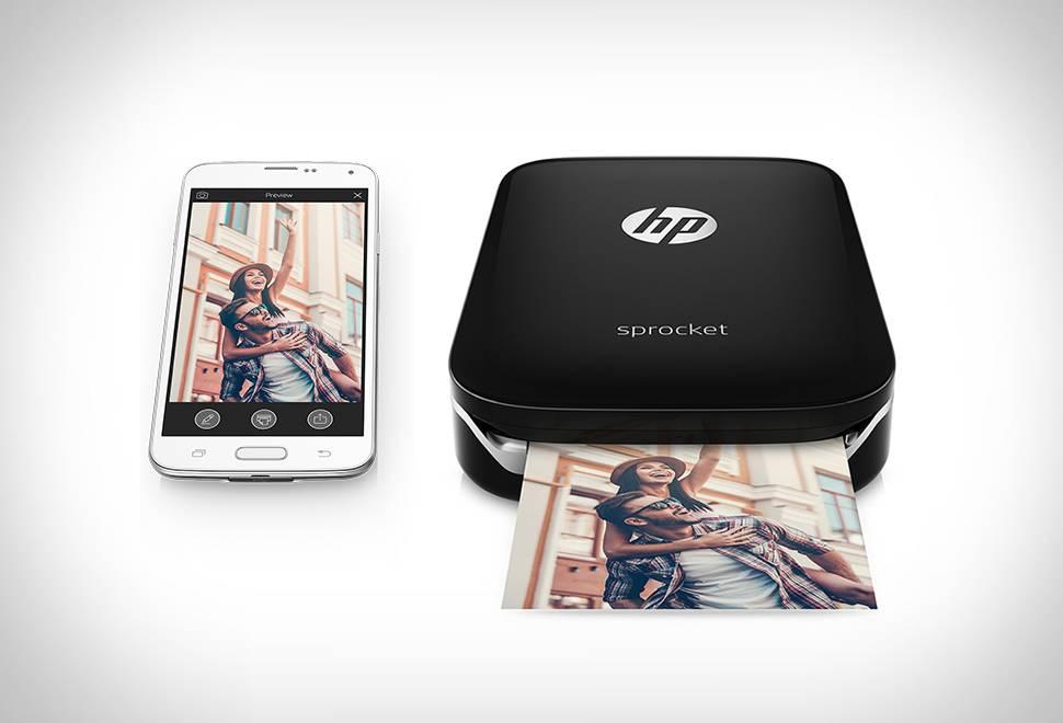 Impressora Portátil HP Sprocket Photo - Imagem - 1