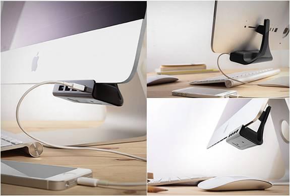 PORTAS USB PARA IMAC - HUBACK - Imagem - 3