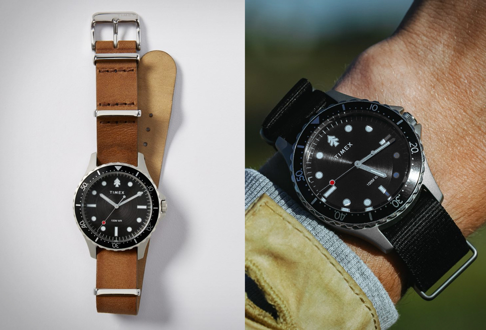 Relógio - Huckberry x Timex Diver