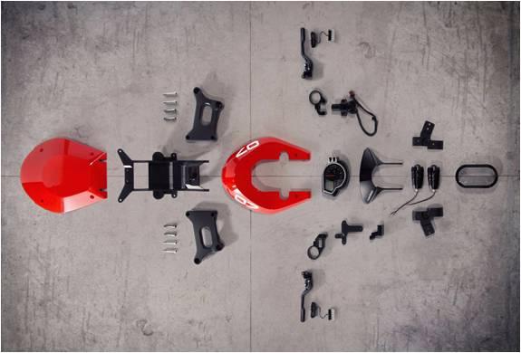 Kit Personalizado para Moto Honda CBR1000RR - Imagem - 2